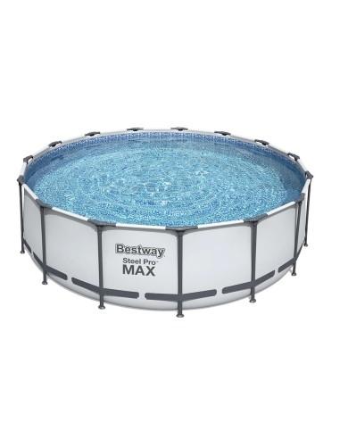 Piscina Fuori Terra Bestway 56438 Rotonda Steel Pro Max 457x122cm Piscine e accessori