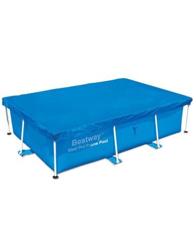 Copripiscina telo per piscina Steel Frame 259x170x61 protezione 58105 Piscine e accessori