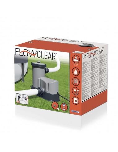Pompa Filtro A Cartuccia Bestway Flowclea Per Piscina Piscine e accessori
