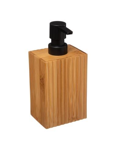 Dispenser di sapone o lozione in bambù Porta Sapone