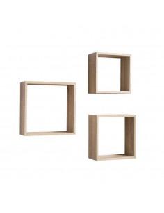 Set 3 cubi da parete Shelvy...