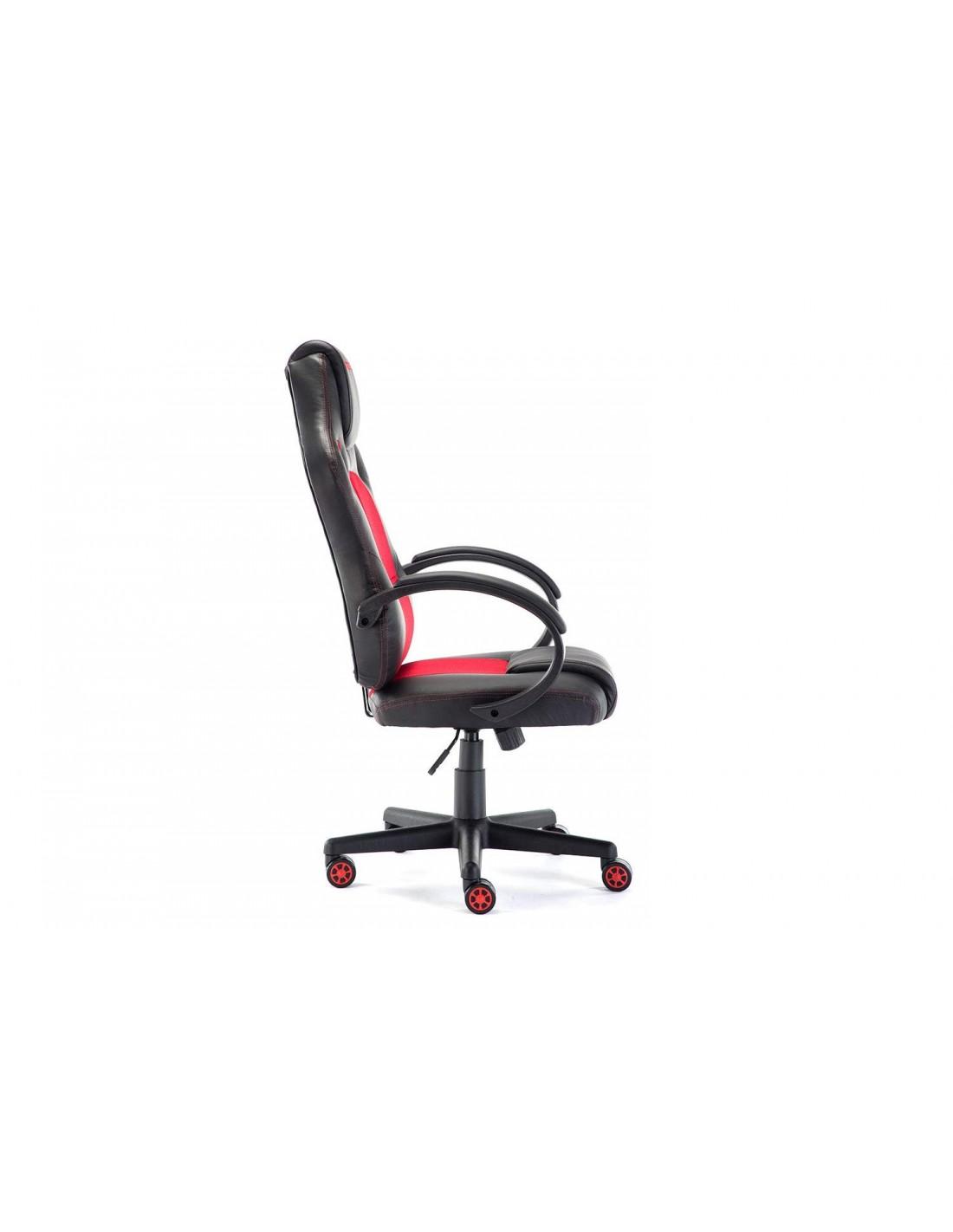 Poltrona Momo Design nera e rossa a soli 139,90