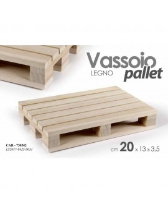 Vassoio Pallet 20 x 13 x 3,5 centimetri