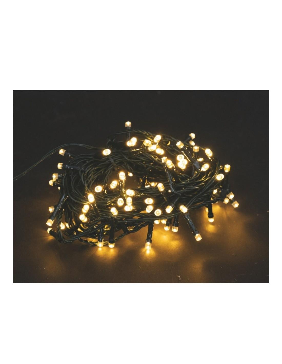 Catena Luminosa Per Foto catena luminosa 1500 led colore bianco caldo cavo verde per esterno 60  metri euronatale a soli 49,90 €