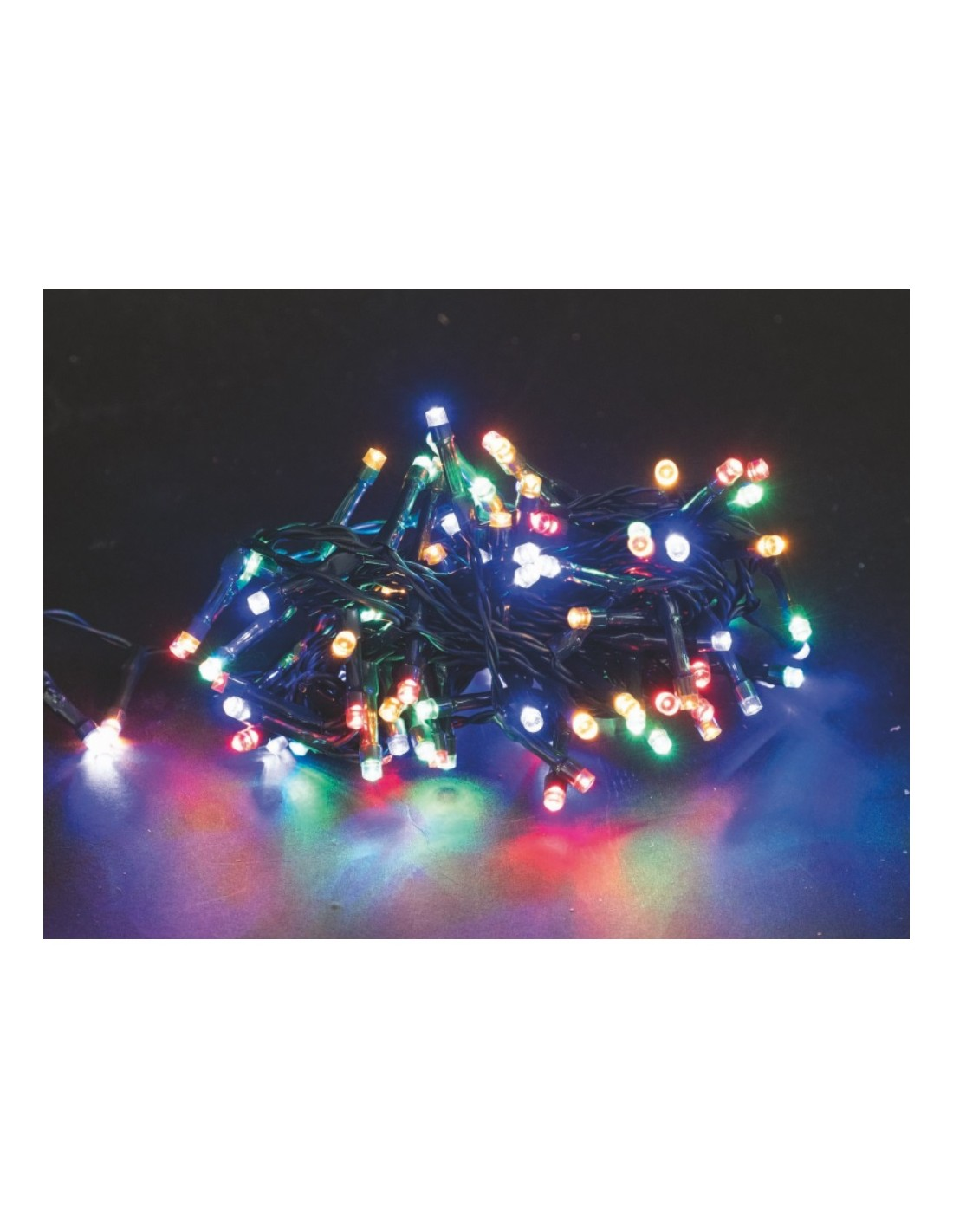 Catena Luminosa Per Foto catena luminosa 2000 led multicolore 8 funzioni per esterno 80 metri  euronatale a soli 69,90 €