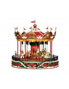 Santa Carousel con...
