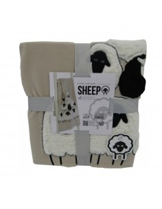 Plaid Sheep 130 x 160...