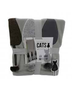 Plaid Cats 130 x 160...