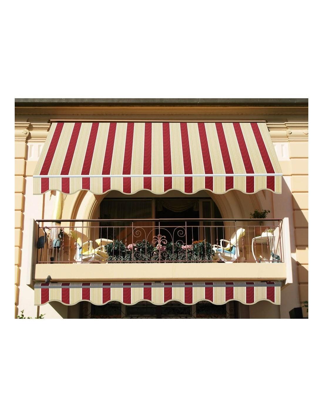 Tende Da Sole Frattamaggiore tenda da sole fissa itaca 3 x 2,5 metri colore beige e