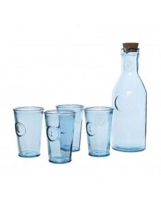 Set caraffa e 4 bicchieri...