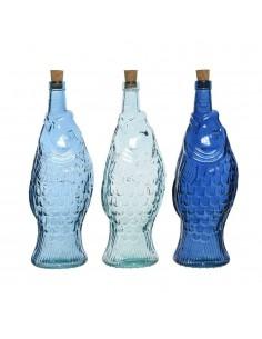 Bottiglia in vetro pesce cm...