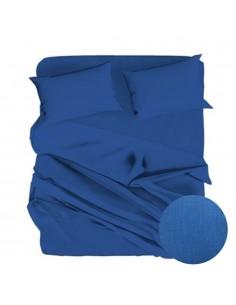 Lenzuolo blu royal Teso...