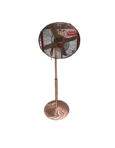 Ventilatore a colonna 60 watt bronzo v-309a Ventilatori