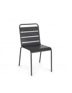 Sedia per esterno grigio...