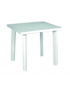 Tavolo bianco in plastica...