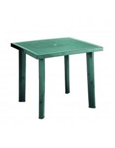 Tavolo verde in plastica...
