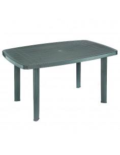 Tavolo bianco ovale da...