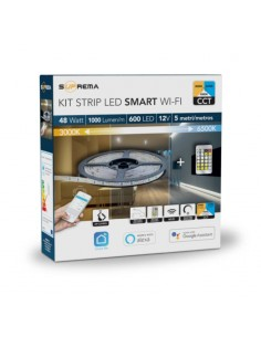 Kit striscia smart led 5 mt...