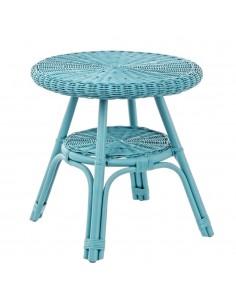Tavolino Alliss blu Bizzotto