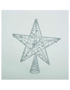 Puntale a stella per albero...
