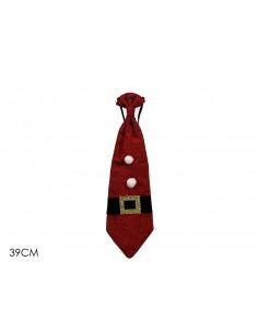 Cravatta rossa natalizia...