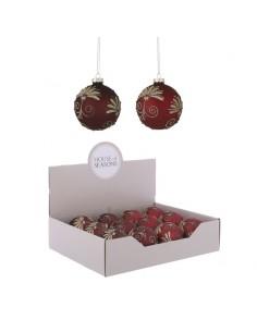 Pallina natalizia  rosso /...
