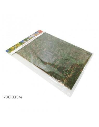 Carta roccia per presepe confezione 3 fogli cm 70 x 100 Presepi
