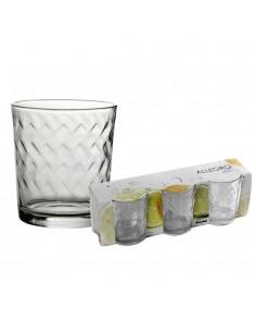 Set 3 bicchieri acqua Allegro in vetro