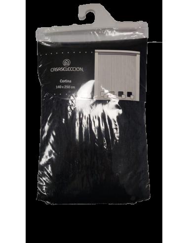Tenda Cortina nera 140 x 250 centimetri Tende e accessori