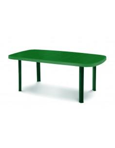 Tavolo ovale verde Ulisse...