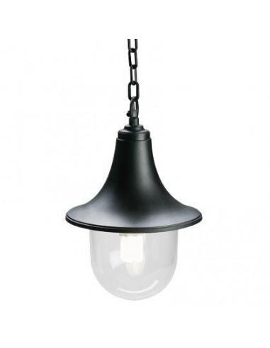 Lampada Lampara Sospesa Colore Nero Per Esterno Lampade a Sospensione